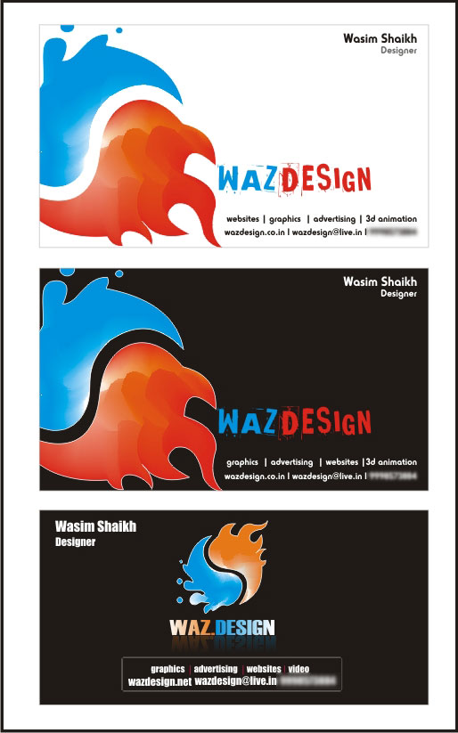 my own visiting card - Design My Business Card