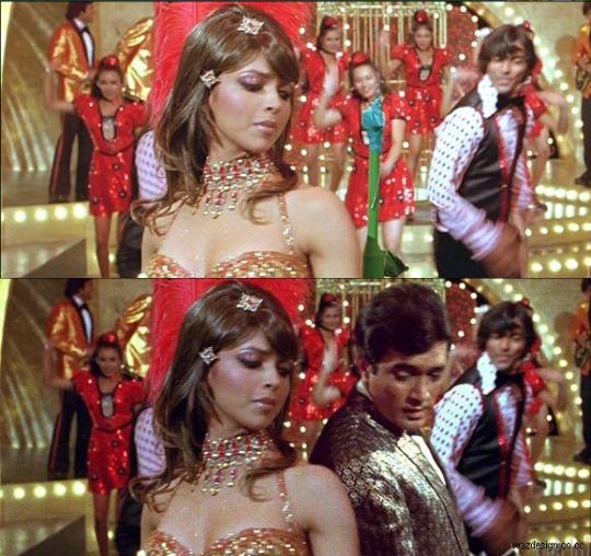 Deepika Padukar with Rajesh Khanna