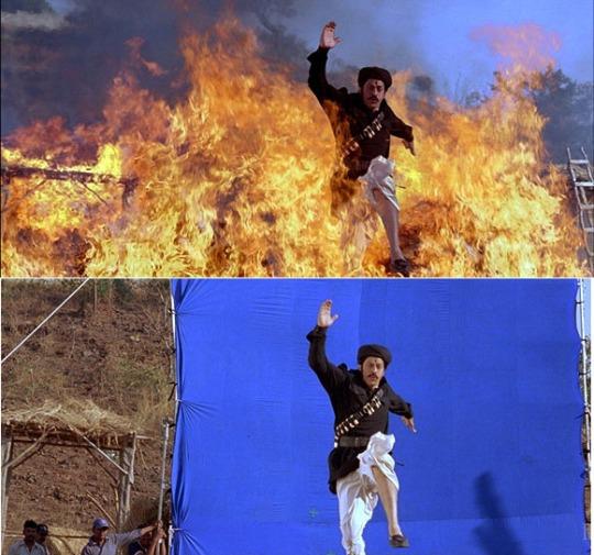 Om Shanti Om - Behind the scene